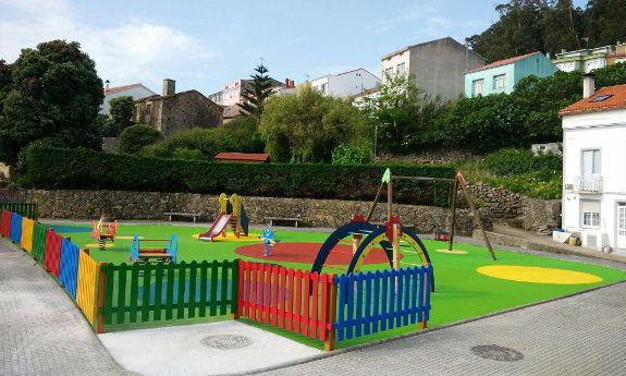 Áreas de juego infantiles y biosaludables