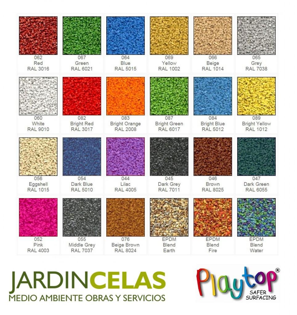 Gama de Colores PlayTop