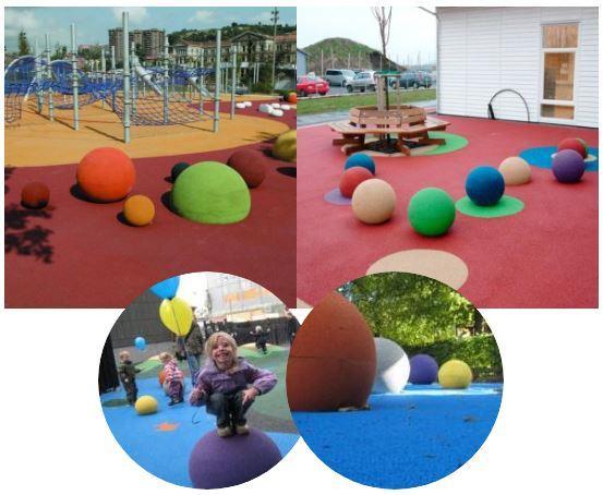 esferas de caucho juegos 3d playtop