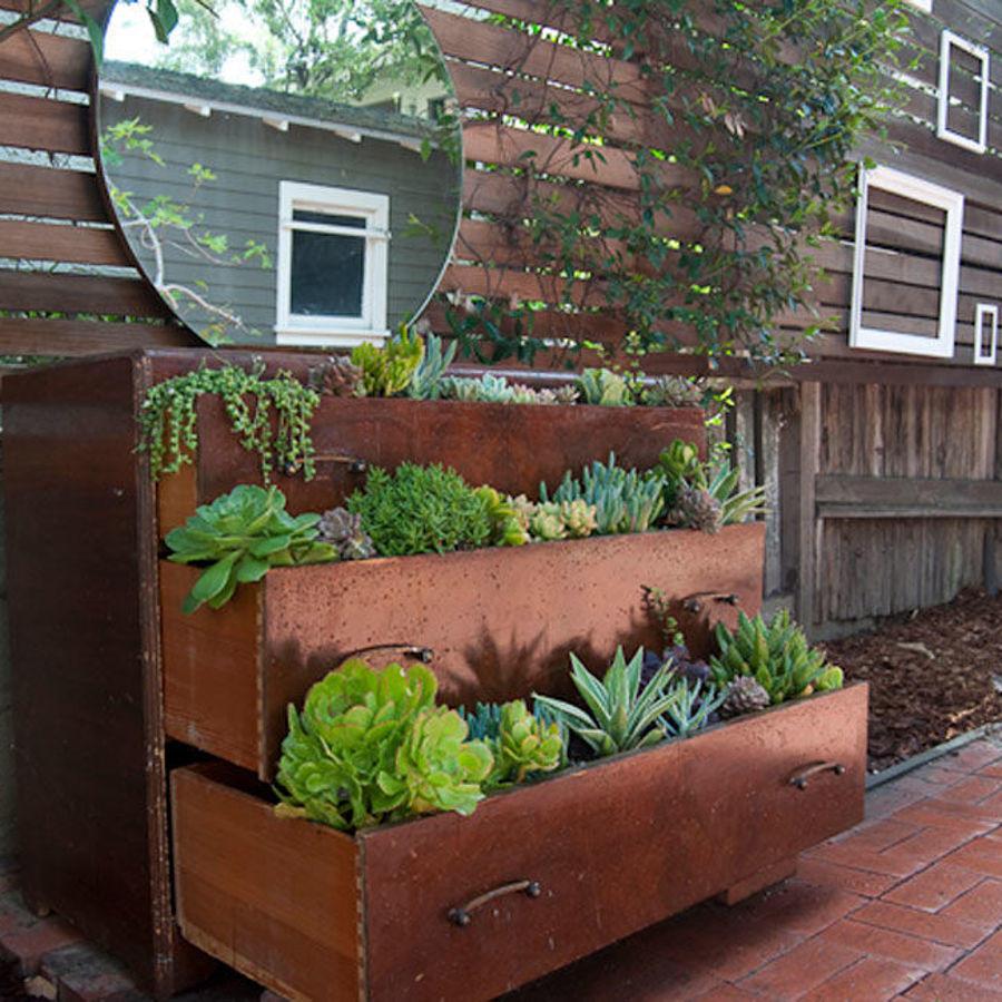 jardin vertical cajonera